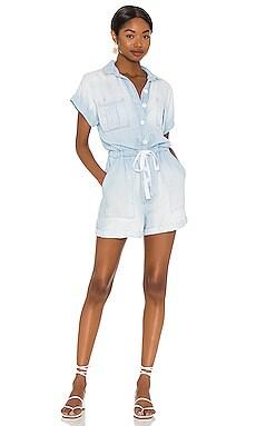 Cap Sleeve Button Front Romper Bella Dahl $218