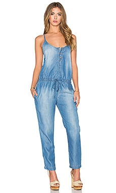Bella Dahl Fly Front Jumpsuit in Vintage Malibu Wash
