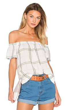 Bella Dahl Off The Shoulder Top in Somerset