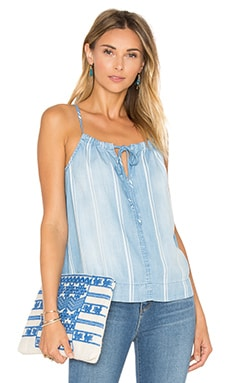 Front Tie Cami in Sundrenched
