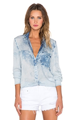 Bella Dahl Perfect Shirt in Ocean Spray Wash