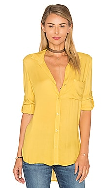 Bella Dahl Shirt Tail Button Down in Fall Leaf