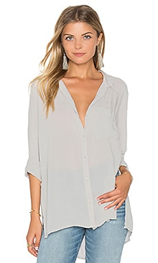 Side Slit Tunic in Harbor Mist