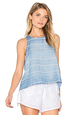 Swing Tank in Tiki Stripe Wash