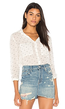 Hipster Button Down Top