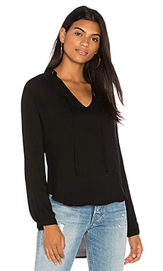 Grommet Tie Pull Over Top
