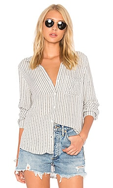 Pocket Button Down Top
