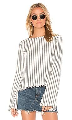 V Back Pullover Top