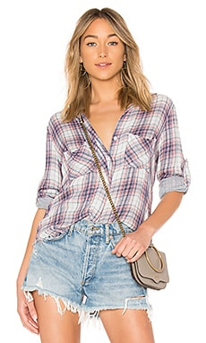 Рубашка fray hem button down - Bella Dahl