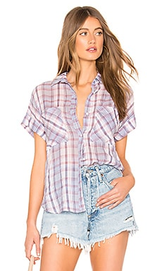 Rolled Short Sleeve Button Down Bella Dahl $42