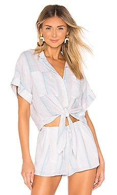 Cap Sleeve Tie Up Blouse Bella Dahl $38 (FINAL SALE)