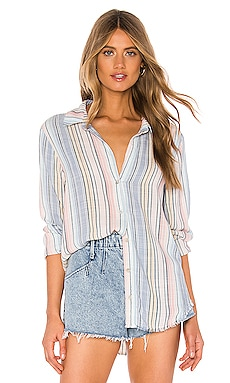 Fray Hem Button Down Bella Dahl $128