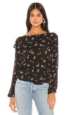 Ruffle Long Sleeve Blouse Bella Dahl $123 NEW ARRIVAL