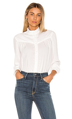Button Front Prairie Blouse Bella Dahl $111