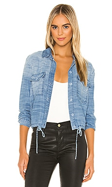 Tie Waist Utility Shirt Jacket Bella Dahl $194