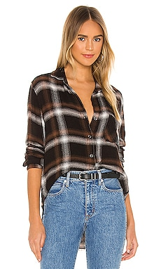 Fray Hem Pocket Button Down Bella Dahl $163