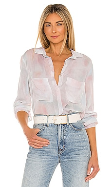 Full Button Down Hipster Shirt Bella Dahl $128