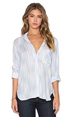 Bella Dahl Perfect Button Up in Blue Ice