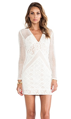 bless'ed are the meek Barbados Dress in Ivory