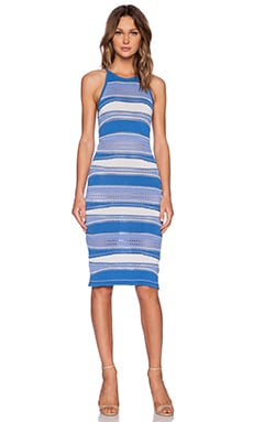 bless'ed are the meek Lunar Dress in Blue