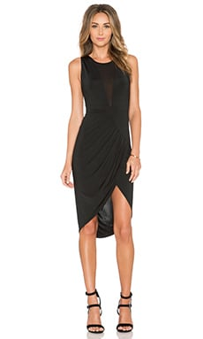 bless'ed are the meek Elysian Twist Dress in Black