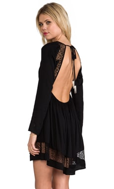 bless'ed are the meek x REVOLVE Long Sleeve Insight Dress in Black