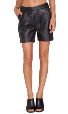 bless'ed are the meek Bermuda Triangle Short in Black