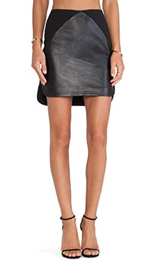 bless'ed are the meek Opposites Skirt in Black