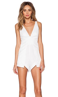 bless'ed are the meek Still Night Playsuit in White