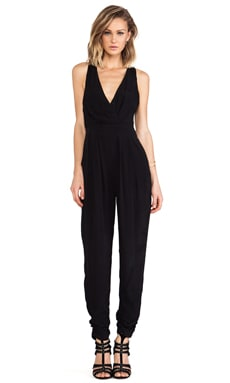 bless'ed are the meek Long Island Jumpsuit in Black