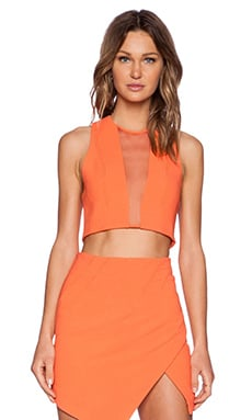 bless'ed are the meek x REVOLVE Genesis Crop Top in Orange