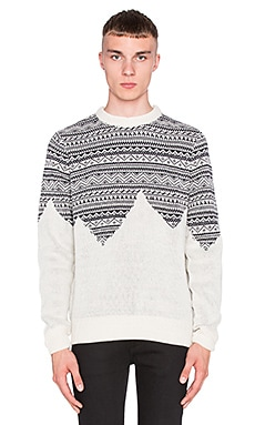 Bellfield Harpar Sweater in Ecru