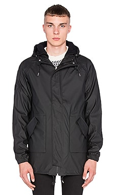 Bellfield Horrow Waterproof Anorak in Black