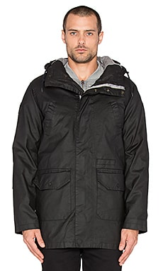Bellfield Pinto 2 in 1 Parka With Bomber en Noir