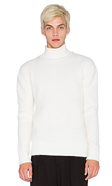 Blindness Oversized Sweater in White