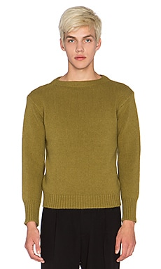 Blindness Oversized Sweater NO PATCH in Olive