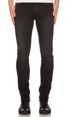 BLK DNM Jeans 25 in Fulton Black