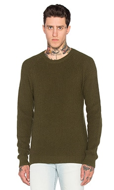 BLK DNM Sweater 65 in Army Green