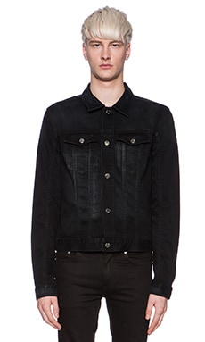 BLK DNM Jeans Jacket 5 in Beekman Black