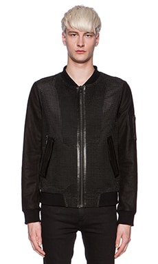 BLK DNM Leather Jacket 64 in Black