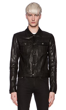 BLK DNM Jeans Jacket 5 in Black