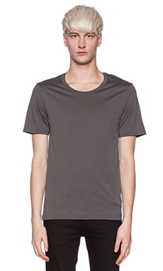 BLK DNM T-shirt 3 in Mid Grey