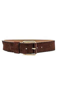 Ivy Wide Suede Belt B-Low the Belt $143