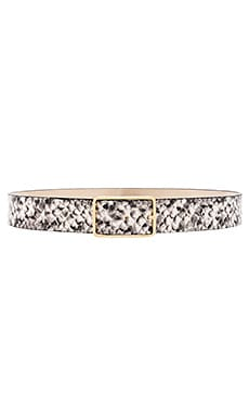 CINTURÓN MILLA PYTHON B-Low the Belt $135