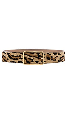 Milla Real Calf Hair Belt B-Low the Belt $135