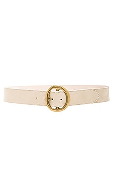 B-Low the Belt Avery Belt in Light Taupe Nubuck