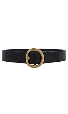 B-Low the Belt Bell Bottom Blue Jeans Belt in Black