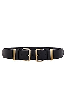 Bangles Belt in Black & Gold