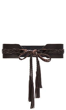 B-Low the Belt Empire Wrap Belt in Brown