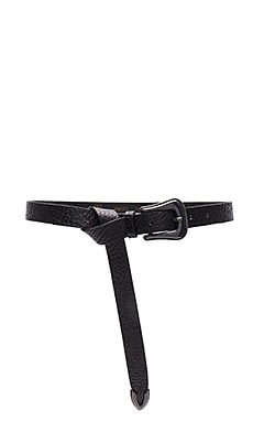 Taos Mini Belt in Black & Old Iron
